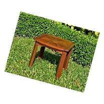 Acacia Sun Burst Side Table