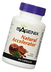 Isagenix Natural Accelerator 60 Capsules Lose Weight Diet