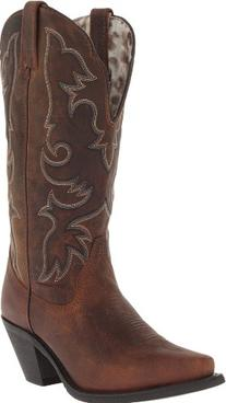 Laredo Women's Access Western Boot,Tan,7 M US