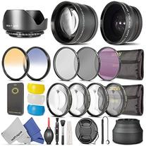 52mm Essential Accessory Kit for Nikon DSLR Bundle with