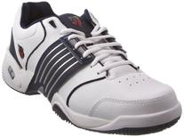 K-SWISS Accomplish LS Men's Tennis Shoes, White/Navy, US13