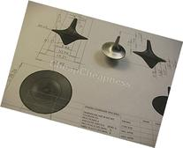 Whitesnowing Accurate Spinning Tops gyro props NEW GT Zinc