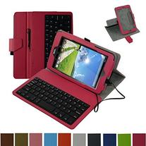 Acer Iconia ONE 7 B1-750 Micro USB Keyboard Case,Mama Mouth