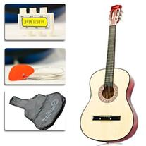 Natural Acoustic Guitar w/ Accessories Combo Kit for