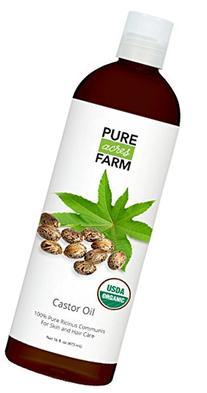 Pure Acres Farm Castor Oil, 16-Ounce