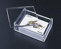 Acrylic Lucite Playing Card/ All Purpose Box with Removable