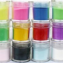 350buy 12 Colors Acrylic Powder Builder Nail Art Jumbo Size
