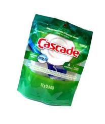 Cascade Action Pac Dishwashing Detergent with Dawn, 4 ct
