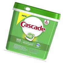 Cascade ActionPacs Dishwasher Detergent, Fresh Scent, 105