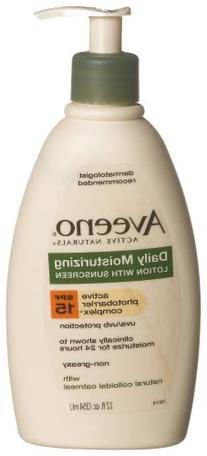 Aveeno Active Naturals Daily Moisturizing Lotion with SPF-15