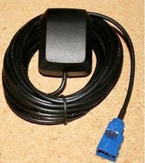 Active GPS Antenna Fakra VW Audi MFD2 RNS2 MFD3 RNS510 Sat