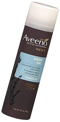 Aveeno Active Naturals Men's Shave Gel, 7 Ounce
