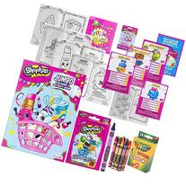 Shopkins Activity Set: Jumbo Coloring Activity Book 96 Pages