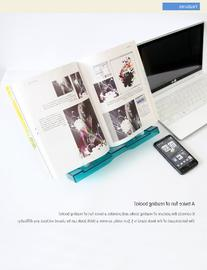 Actto BST-03 Semi-transparent Blue Portable Reading Stand/