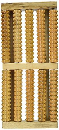 OTC Acupressure Roller Wood Foot Massage Stress Relief, 5