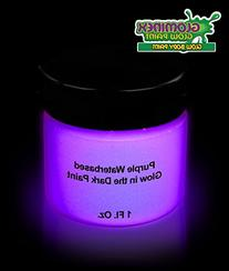 Glominex AD390 Glow in the Dark Body Paint 1 Ounce Jar -