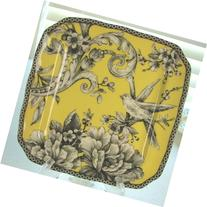 222 Fifth Adelaide Yellow Appetizer / Dessert Plates, Set of