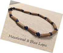 ADHD Hazelwood Necklace 17 - 18 inch Baltic Amber Lapis