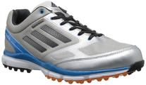 adidas Men's Adizero Sport II Golf Shoe,Metallic Silver/