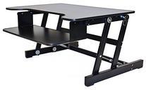 Rocelco ADR Standing Desk - Height Adjustable Sit Stand Desk