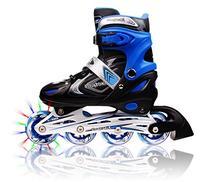 XinoSports Adjustable Inline Skates for Kids, Featuring