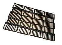 Adjustable Porcelain Cast Iron Grid- Set of Four Grids for