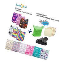 Babygoal Baby Adjustable Reuseable Pocket Cloth Diaper 12pcs