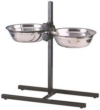 MCage Large Adjustable Wrought Iron Stainless Steel Double