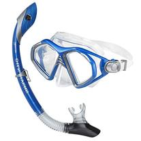 U.S. Divers Admiral 2 Lx / Island Dry Adult Silicone Mask