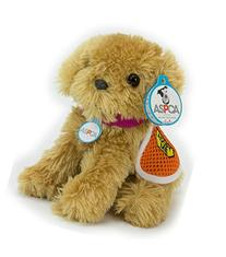 Adopt-A-Pet Puppy. 18 Inch Doll Pets, Golden Puppy with