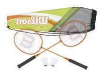 Wilson Adult's All Gear Badminton Kit