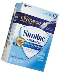 Similac Advance Powder Sticks, 16 count