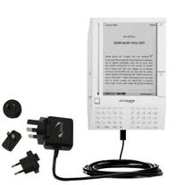 Advanced Amazon Kindle  compatible International Wall AC 2A