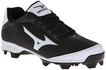 Mizuno Men's Advanced Blaze Elite 5 Low Baseball Cleat,Black