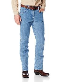 Wrangler Men's Advanced Comfort Cowboy Cut Jean, Mid Tint,