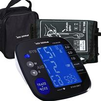 GoWISE USA Digital Blood Pressure Monitor with Hypertension