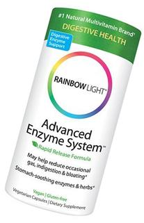 Rainbow Light Advanced Enzyme System 60 vegetarian capsules