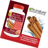 Trunature Advanced Strength Cinsulin 510 Capsules ,
