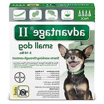 Bayer Advantage II, Small Dogs, Up to 10-Pound-Pound, 4-
