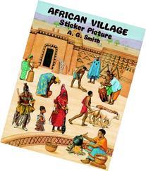 African Village Sticker Picture