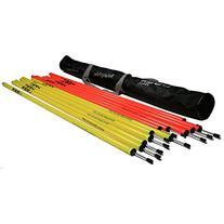Uber Soccer Agility Poles - Standard - Set of 12