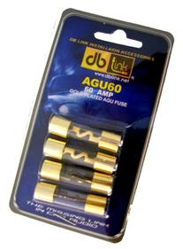 DB Link AGU60 60 Amp Gold AGU Fuses - Pack of 4
