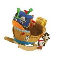 RockAbye Ahoy Doggie Pirate Ship Rocker Multi OS -Kids 85034