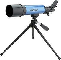 Carson Aim Refractor Type 18x-80x Power Telescope with