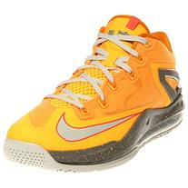 Nike Max Lebron XI Low Men Sneakers Light Magnet Grey/Magnet