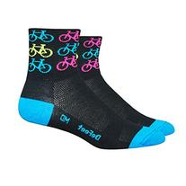 DeFeet AirEator 3in Cool Bikes Cycling/Running Socks