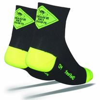 DeFeet Aireator Share the Road Socks,Black,Large