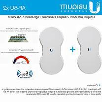 Ubiquiti AirFiber AF5U KIT 2 End Points AF-5U 5GHz 1.2+Gbps