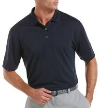 PGA TOUR Mens Airflux Solid Polo Shirt 3X True navy blue