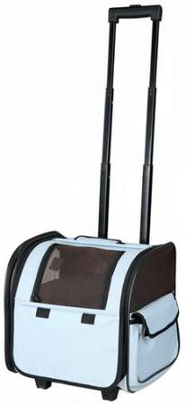 Pet Life Airline Approved Wheeled Travel Pet Carrier with